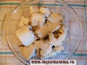 Рецепт рыбы, запеченной в духовке со сметаной