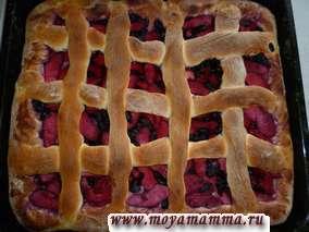Рецепты постных пирогов с жимолостью и яблоками