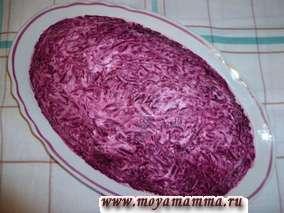 Классический рецепт сельди под шубой