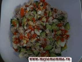 ингредиенты для зимнего салата