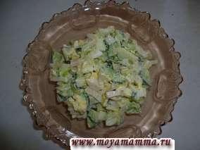 салат из редиски и огурца