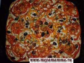 Рецепт домашней пиццы с курицей