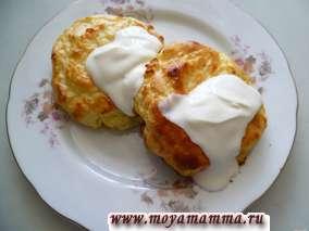 Рецепт картофельных ватрушек с творогом