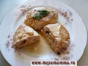 Котлеты из филе курицы с сыром