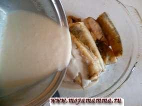 судак в молочном соусе в духовке