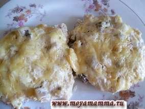Котлеты рубленые из куриной грудки с сыром