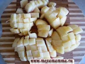Если персики жестковатые и не сладкие, то желательно их пересыпать с сахаром и на 2-3 минуты поместить в микроволновку.