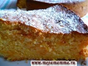Рецепт пирога с абрикосовым вареньем