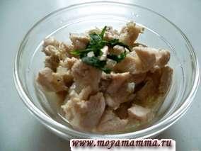 Рецепт тушеной курицы с луком