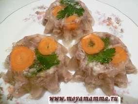 Рецепт куриного холодца с фото пошагово