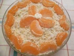 Салаты с мандаринами