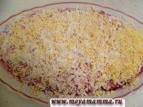 Рецепт сельди под шубой с грецким орехом