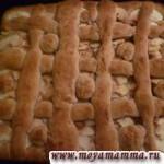 Дрожжевое тесто с орехами