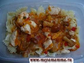 Рецепт рагу из овощей с курицей