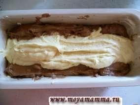 лимонный кекс с грецкими орехами в форме