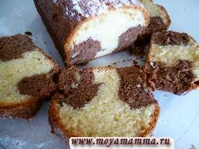 лимонный кекс с грецким орехами