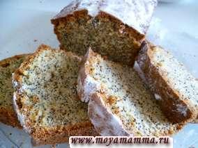 Рецепт кекса с маком