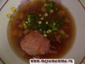 Суп с красной фасолью в скороварке