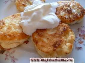 Рецепт вкусных сырников из творога без муки и манки