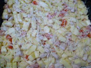 посыпка тертым сыром