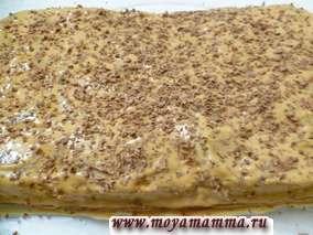 самые простые рецепты торта в домашних условиях - с посыпкой из шоколада