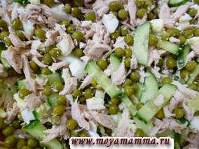Приготовление зимнего салата