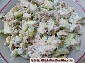 Заправка зимнего салата