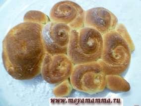 Как сделать красивые дрожжевые булочки