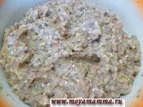 Тефтели из курицы с рисом