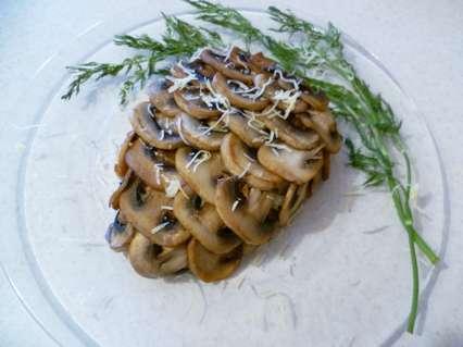новогодий салат шишка с шампиньонами
