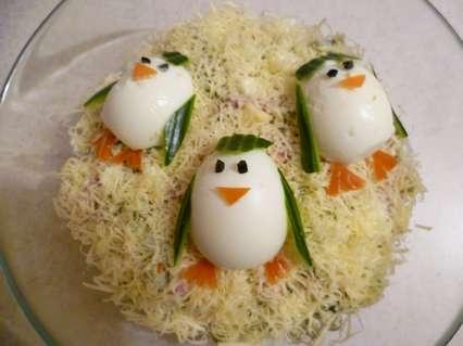 Какой салат приготовить из яиц