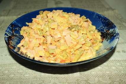 Рецепт салата «Обжорка»