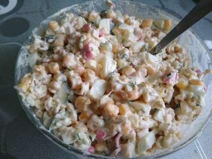 салат салат из роллтона с крабовыми палочками