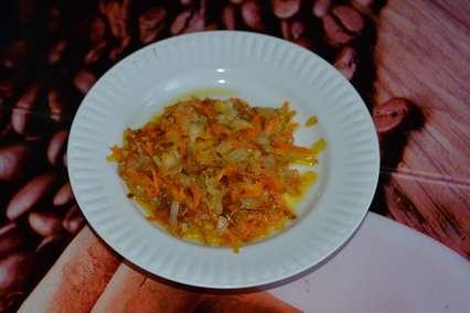 Обжаренная морковь для салата