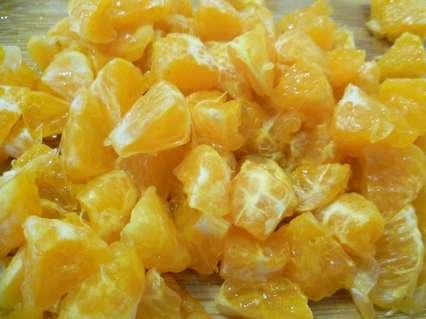 кусочки мандаринов для салата с пекинской капустой