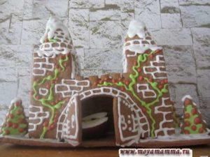 Пряничный имбирный домик