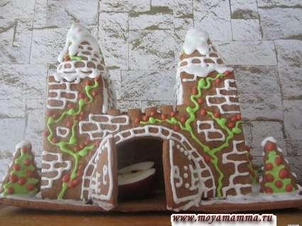 Пряничный домик (замок из имбирных пряников)
