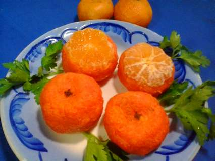 рецепт закуски мандарины