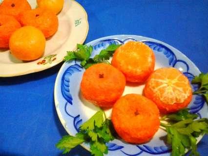 острая закуска мандарины