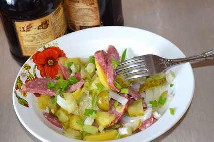 Рецепт немецкого картофельного салата