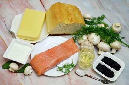 продукты для приготовления бутербродов