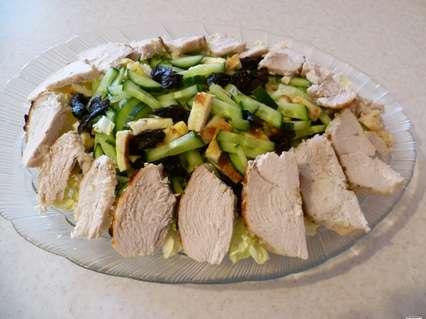 запеченное филе куриной грудки для салата