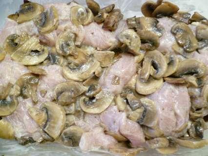 филе курицы с грибами