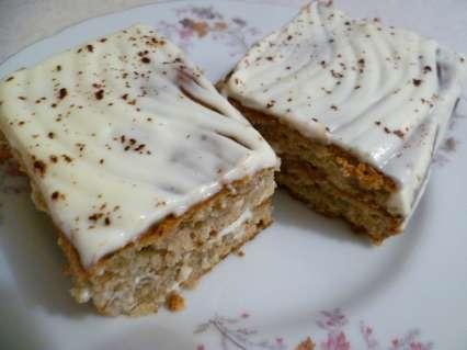 творожный пирог с корицей