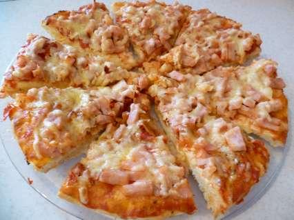 рецепты приготовления дрожжевой пиццы с куриной ветчиной и сыром