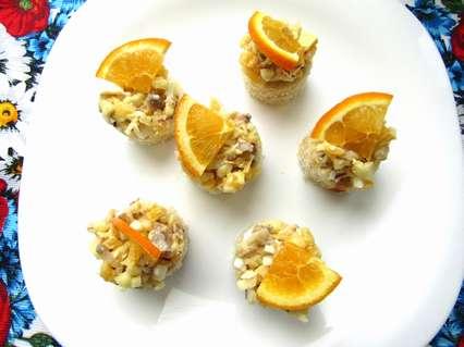 рецепт закуски из селедки