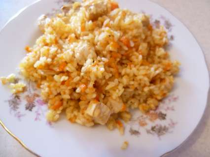 рис с куриным филе