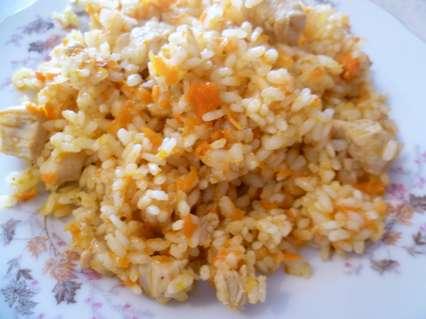 Вкусный рис с куриным филе