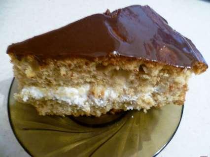 рецепт кофейного торта со сметанно -творожным кремом в шоколадной глазури
