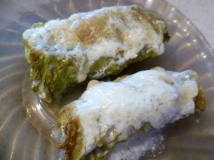 треска запеченная в листьях салата
